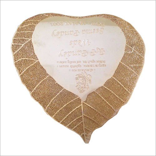 Laser Cut Wedding Plate