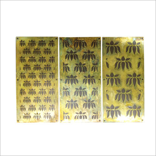 Chemical Edge Cut Brass Jali