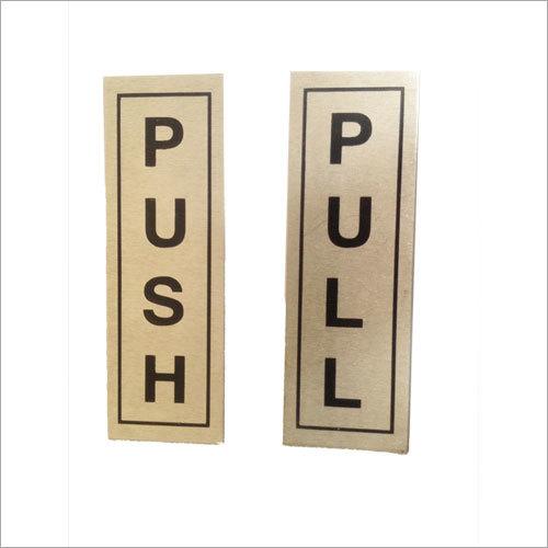 Push Pull Plate