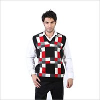 Mens Half Sleeves Sweater