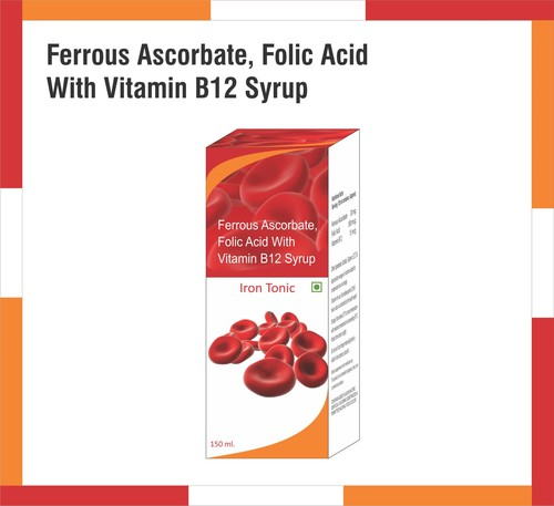 Ferrous Ascorbate, Folic Acid with Vitamin B12