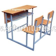 Two Seater Student Desk