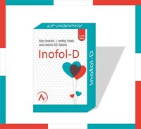 Myo Inositol, L-Methyl Folate and vitamin D3 Tablet