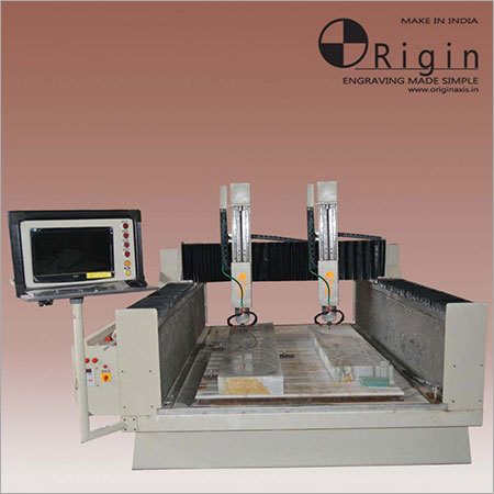 450Z VERTICAL DUAL SPINDLE CNC Engraving Machine