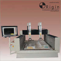 VERTICAL DUAL SPINDLE Engraving Machine