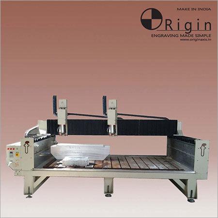 HORIZONTAL DUAL SPINDLE Engraving Machine