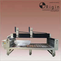 HORIZONTAL DUAL SPINDLE Engraving Machine