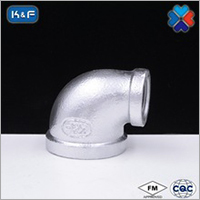 Galvanized Malleable Iron Pipe Fittings