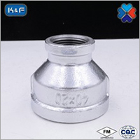 Galvanized Malleable Iron Pipe Reducing Socket