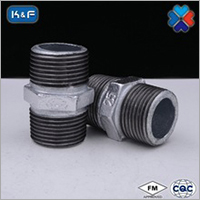 Galvanized Malleable Iron Pipe Nipple