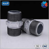 Galvanized Malleable Iron Pipe Nipple