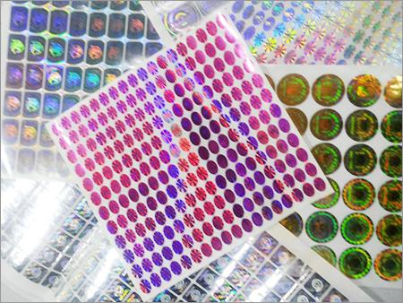 Hologram Sticker Rolls