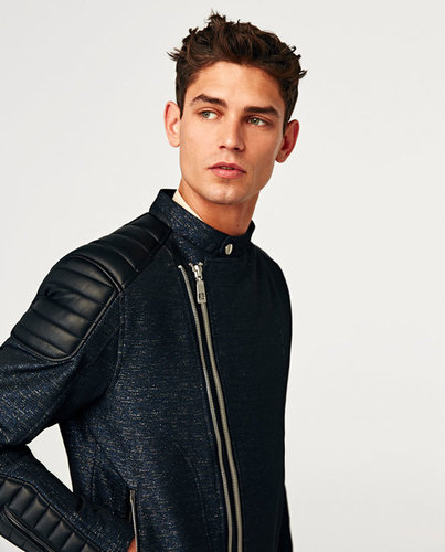 Leather Men`s Jacket