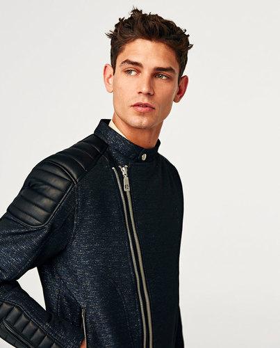 Leather Men`s Jacket