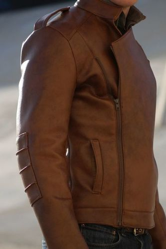 Leather Fabrics Jacket