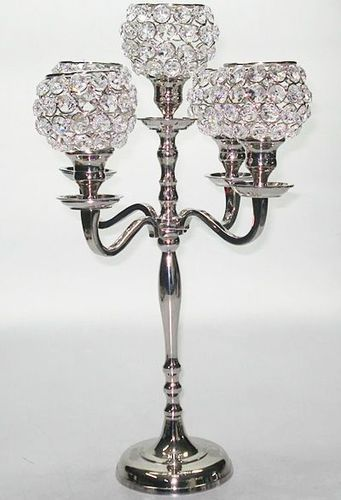 Candelabra Crystal Candle Holder