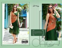 PARTY WEAR KURTI WITH GOOD FINISHING