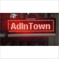 Digital LED Sign Board