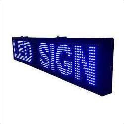Glow LED Sign Board