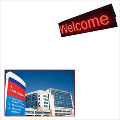 LED Sign Board for Hospitals
