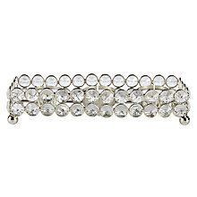 Crystal Beads Tealight Holder Tray