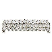 Crystal Beads Tealight Holder Tray