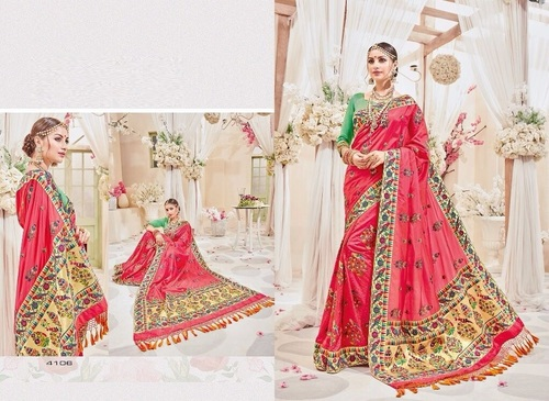 Mastani Silk Designer Saree