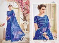 Heavy Designer Work Net Saree