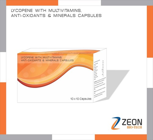 Lycopene with Multivitamins, Anti-Oxydants and minerals capsules