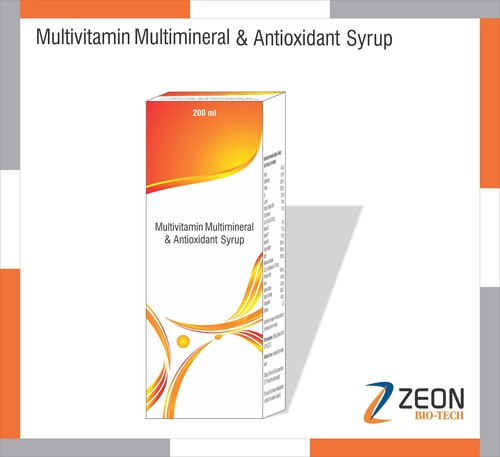 Multivitamin, Multiminerals & Anti-oxydant Syrup