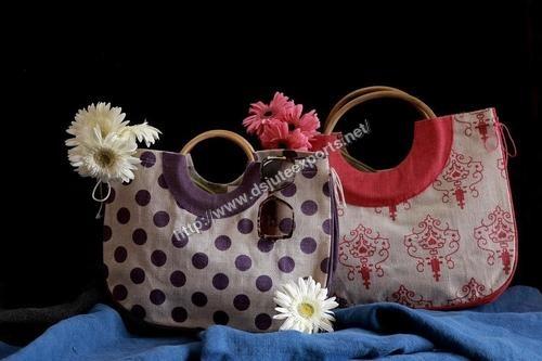 Cane Jute shopping bags