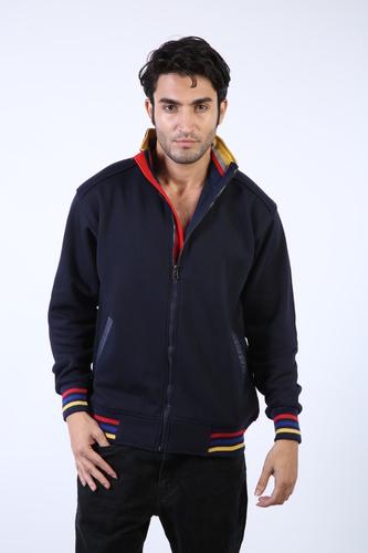 Mens Front Zip Sweatshirts with Pocket