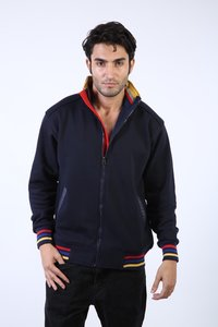 Mens Front Zip Sweatshirts with Pocket