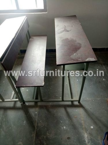 Three Seater College Desk