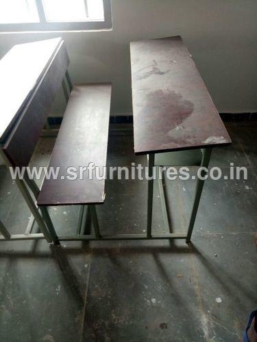 Three Seater College Desk