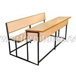 3 Seater College Desk