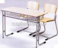 Double Seater College Desk