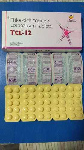 Thiocolchicoside 4 mg & Lornoxicam 8mg