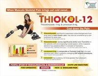 Thiocolchicoside 4 mg + Lornoxicam 8mg