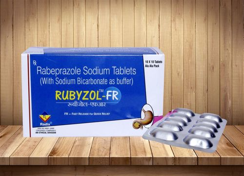 Rabeprazole 20 mg with Sodium Bicarbonate
