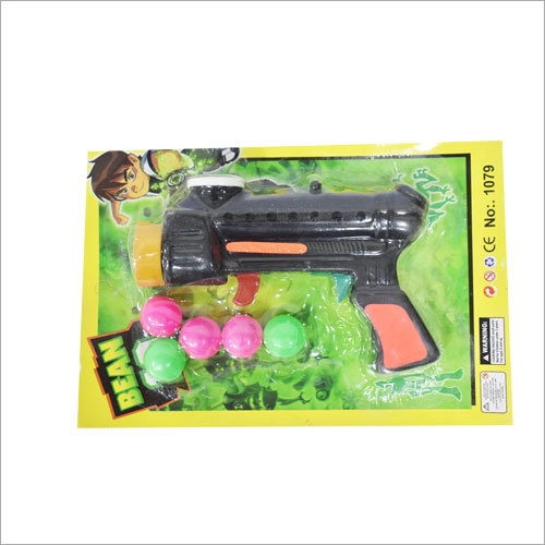Kids Plastic Ball Shooting Gun