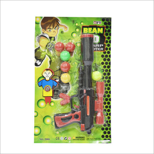 Kids Outdoor Plastic Ball Shooting Gun