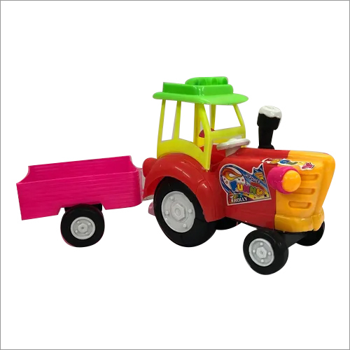 Kids Plastic Trolley Tractor