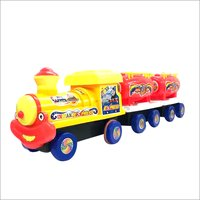 Kids Metal Tin Toy Train Engine