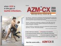 Azithromycin 250 mg + Cefixime 200mg