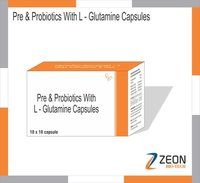Pre & ProBiotics with L-Glutamine Capsule