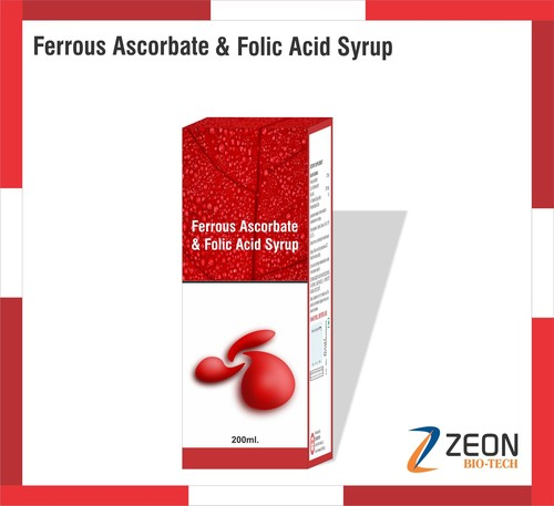 Ferrous Ascorbate, Folic Acid Syrup