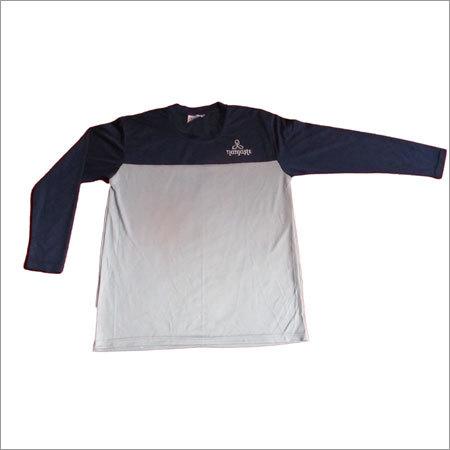 Men's T-shirt Dot Knitted