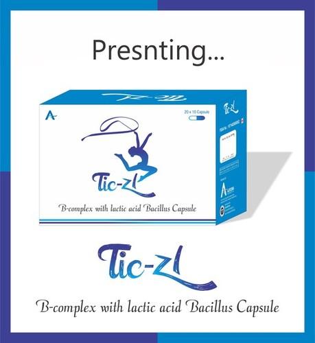 B-Complex with Lactic Acid Bacillus Capsule
