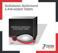 Multivitamin, Multiminerals & Anti-oxidant Tablets